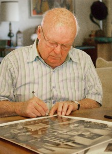 Richard Ham Signing His Picasso Image